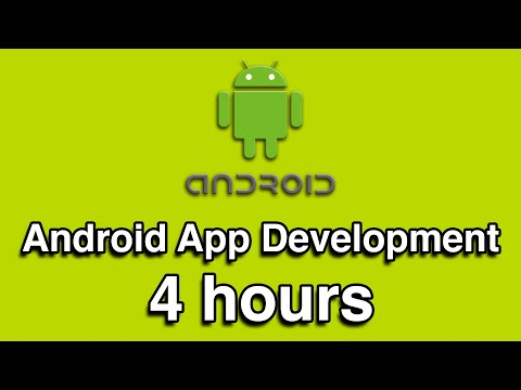 Android App Development in Java All-in-One Tutorial Series (4 HOURS!)