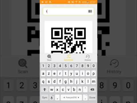 Best free QR and Barcodes app scanner and generator.