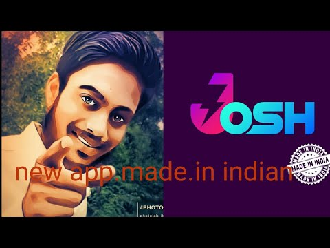 New app made in indian josh app