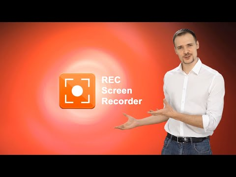 video review of REC - Screen Recorder. UHD, FHD, HD, on/off audio