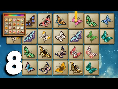 Tile Connect - Free Tile Puzzle & Match Brain Game - Gameplay Part 8 Levels 46-50 (Android,iOS)