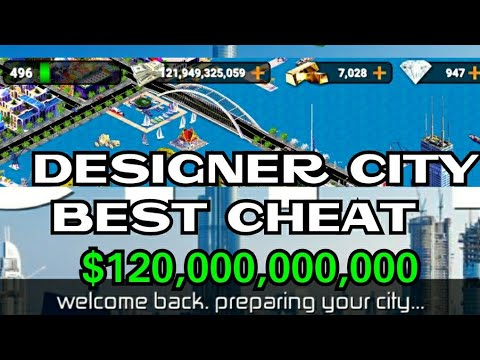 Designer City Worlds Best Cheat 100% Working!