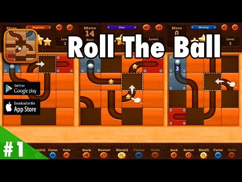 Roll the Ball™ slide puzzle - Gameplay Walkthrough #1 HD (iOS, Android)