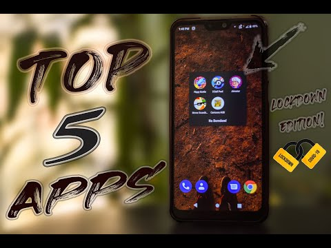 TOP 5 APPS TO NOT GET BORED IN LOCKDOWN/QUARANTINE!! | MAY 2020 | PASS YOUR TIME IN QUARANTINE |