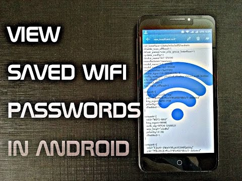How to See/View Saved WiFi Passwords in Android | Show Wifi Key or Password | Trick |