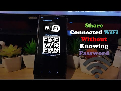 Share WiFi by QR Code (Connect any Phone to WiFi without knowing Password)