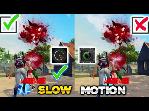 FREE FIRE SUPER SLOW MOTION VIDEO EDITING APP        Video Velocity Fast And Slow Motion Video