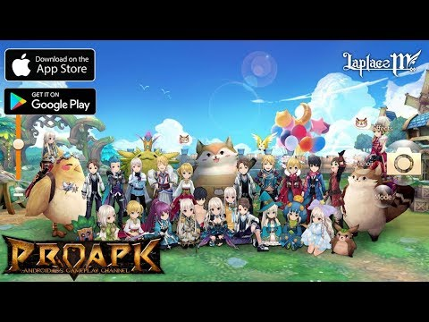 Laplace M Gameplay Android / iOS (OBT) (Open World MMORPG)