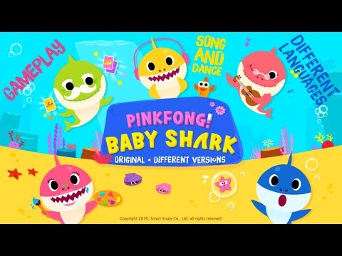 Pinkfong Baby Shark Sing and Dance | Best Kids Songs App Gameplay Different Versions Medley