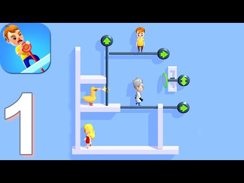 Pin Pull - Gameplay Walkthrough Part 1 Levels 1-40 (Android)