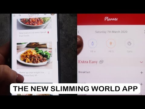 CHECK OUT THE NEW SLIMMING WORLD APP WITH ME FOR 2020