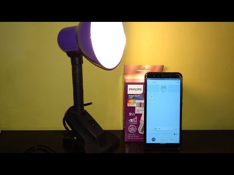 How To Connect/Pair Philips Smart LED Bulb With Wiz App | Setup Google Assistant and Amazon Alexa