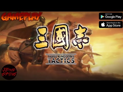 THREE KINGDOMS TACTICS (ENG/OFFICIAL) 2021 Online-Strategy Game Mobile-Gameplay