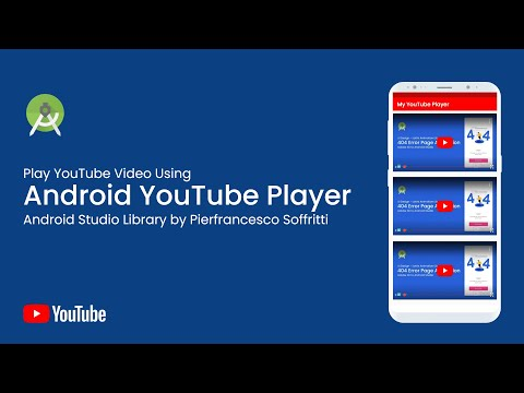 Play YouTube Video in Android Studio Using Android Youtube Player Library - Pierfrancesco Soffritti