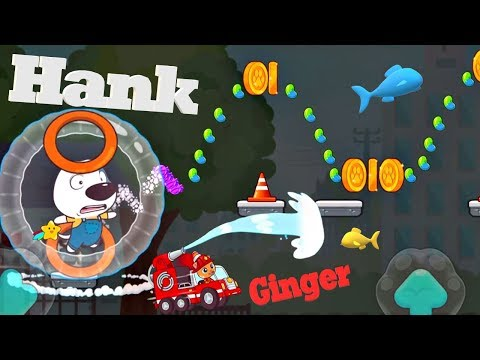 Talking Tom Candy Run - Hank Tom Ginger & Agent Angela - ios android free game for kids Children