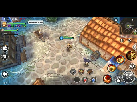 Royal Crown (by LINE Games) - action game for Android and iOS - gameplay.