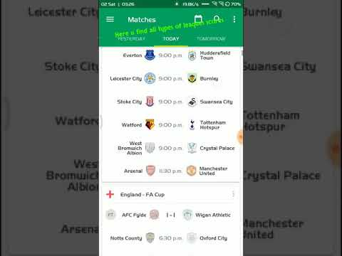 Best Football Live Scores Apps for Android
