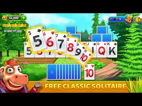 Farm Journey - Tripeaks Solitaire [ Android ] LVL1-5 classic solitaire card game a short video