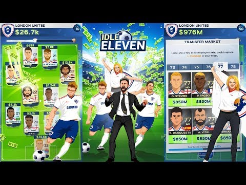 Idle Eleven - Be a millionaire football tycoon Android Gameplay