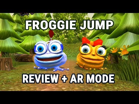 Froggie Jump Review (Android) - Fun & Challenging AR Platformer