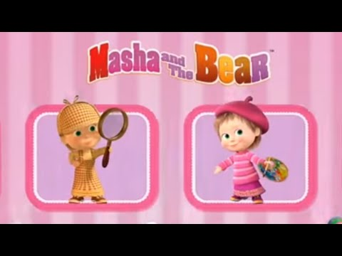 Masha and the Bear - Games & Activities | Detective | Painter