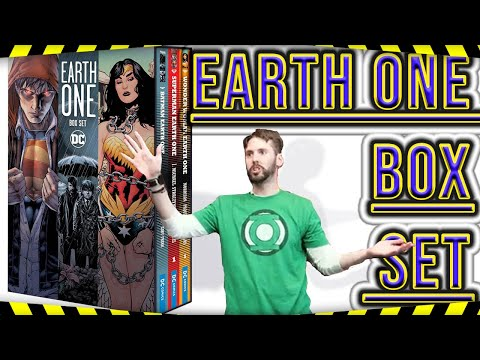EARTH ONE BOX SET : REVIEW AND UNBOXING ..(DC COMICS TRADE PAPER BACK)!!