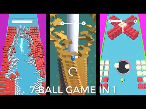 Review: Ball Run Stack: 5 Ball Game Stack Hit Helix in 1
