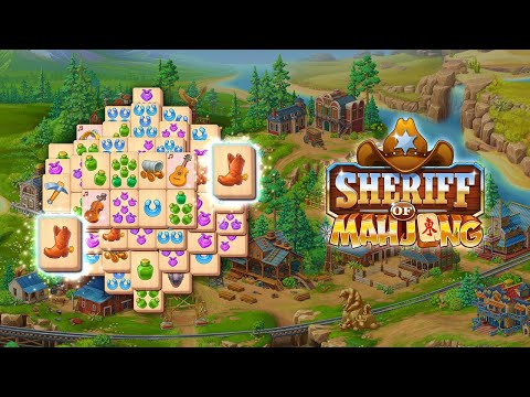 video review of Sheriff of Mahjong