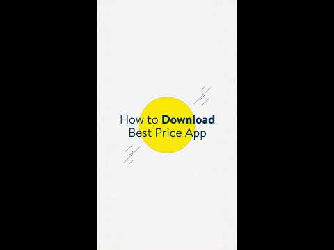 How to Download the Best Price App (English)