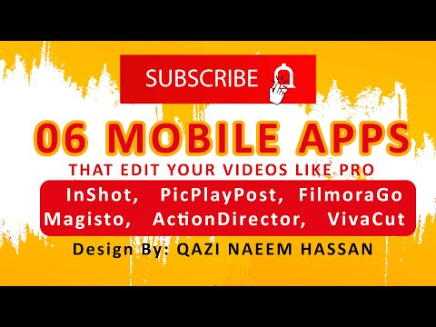 06 mobile Apps that edit your videos like pro