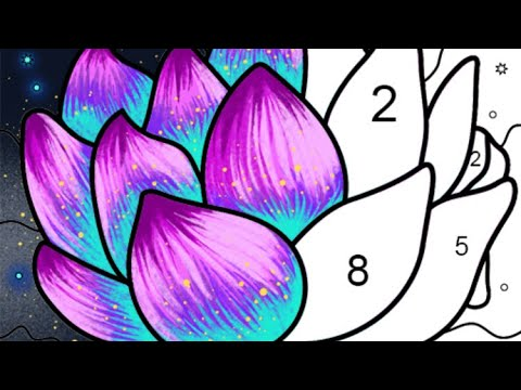 3. Paint By Number - Free Coloring Book & Puzzle Game | Fun Art For Kids and Adults 🎨