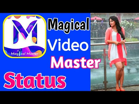 How to use Magically video master app   Magically Video Master   New whatsApp Status App