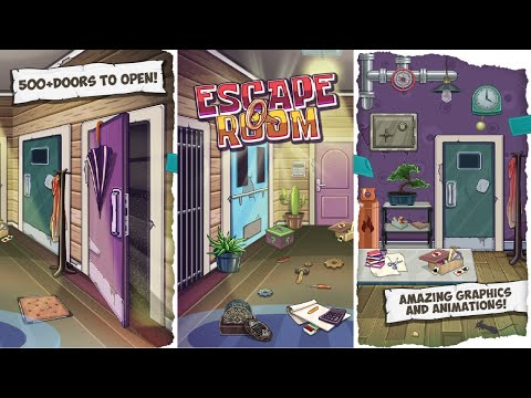 Escape Room the Game App: Brain Teasers for Adults Android Gameplay