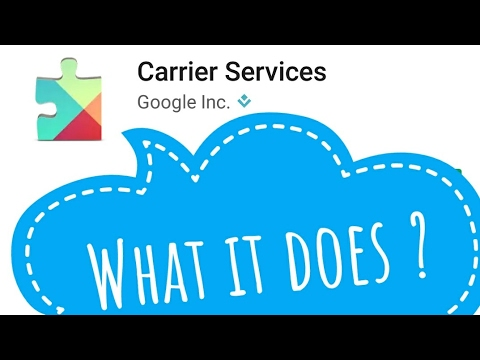 Carrier Service update, What it does?