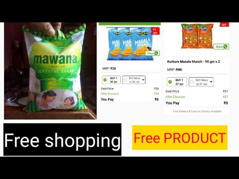 Free Shopping Free Products  Loot Dealshare App Offer Loot Free Grocery item