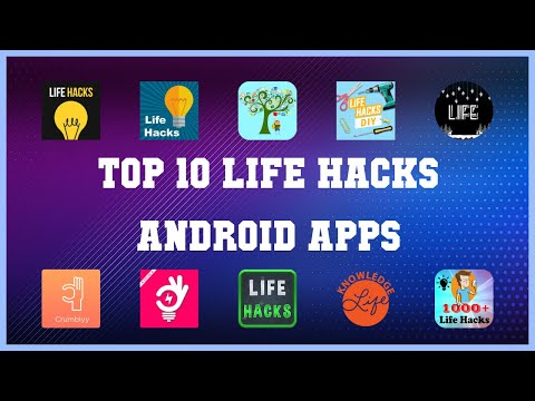 Top 10 Life Hacks Android App | Review