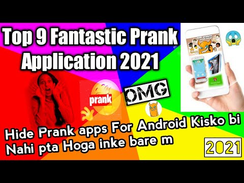 Top 9 Pranks Apps for Android 2021    Very Funny And Amazing Applications Cool Features ...