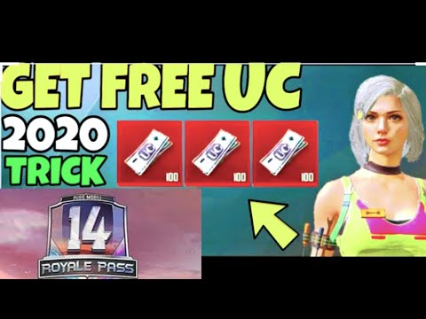 How to get free UC and royal pass