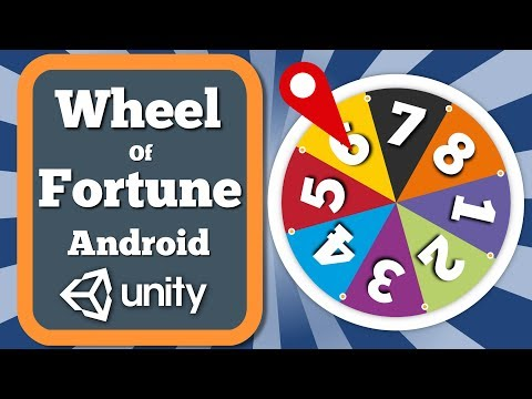 Unity 2D Tutorial How To Create The Wheel Of Fortune Prize Giving Feature For Android Game