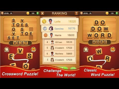Word Talent: Classic Word Puzzle Game Android Gameplay