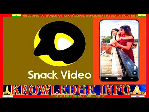 #Snack Video Status Maker#Vidstatus Team Official App review in Hindi#Snack Video@KNOWLEDGE INFO