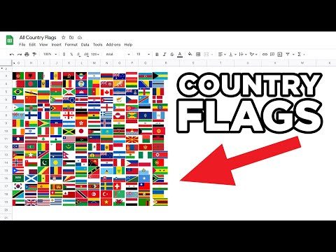 How to get All Country Flags in Google Sheets in just 2 Minutes