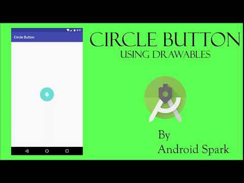 #5 Circle Button in Android using Drawables