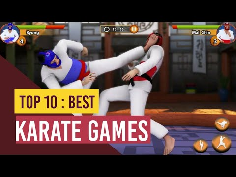 Top 10 Android/IOS Karate Games