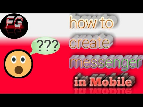 How to make messenger app in mobile