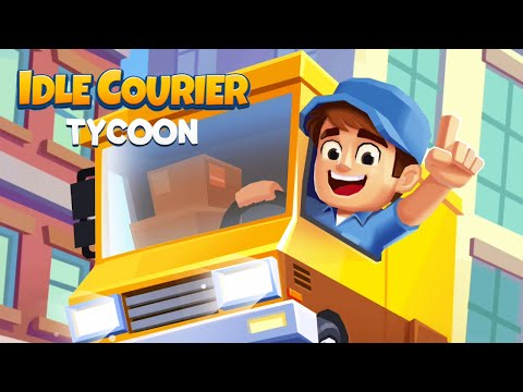 Idle Courier Tycoon Gameplay | Android Simulation Game