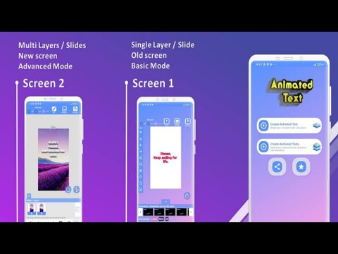 Animated Text Creator - Text Animation video maker for Android 2020