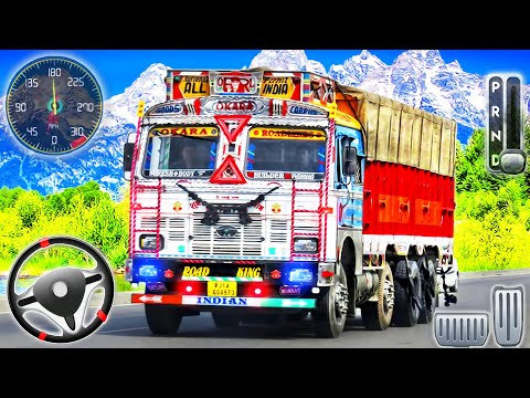 Indian Mountain Heavy Cargo Truck - Offroad Driver Truck Simulator - Android GamePlay