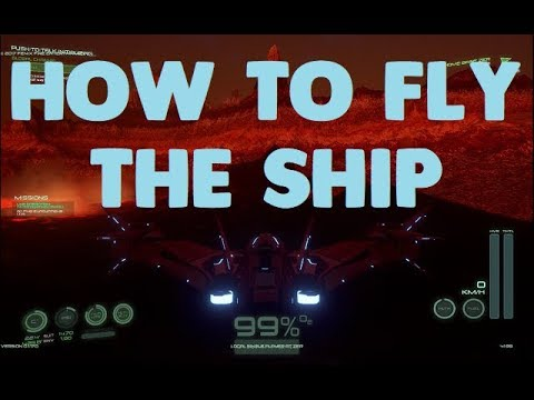 Osiris New Dawn   How to Fly the Spaceship