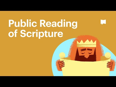 video review of Public Reading of Scripture